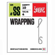 Соединители LUCKY JOHN безузл. LJ Pro Series WRAPPING 03M 15кг 7шт.