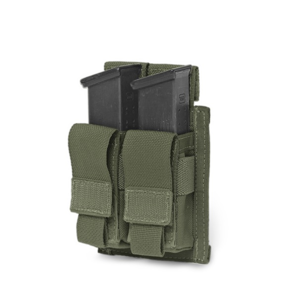 Подсумок Direct Action Double DA 9mm Pistol Pouch Warrior Assault Systems на 2 магазина, цвет – Olive