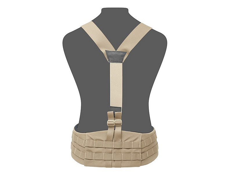 Подтяжки Elite Ops Slimline Harness Warrior Assault Systems боевых поясов, цвет – Coyote Tan