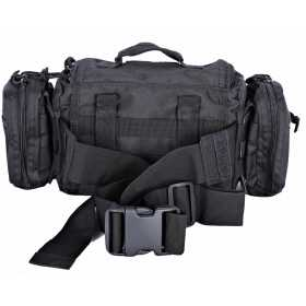 Сумка поясная Tactical PRO Messenger 5л 600 Den черная